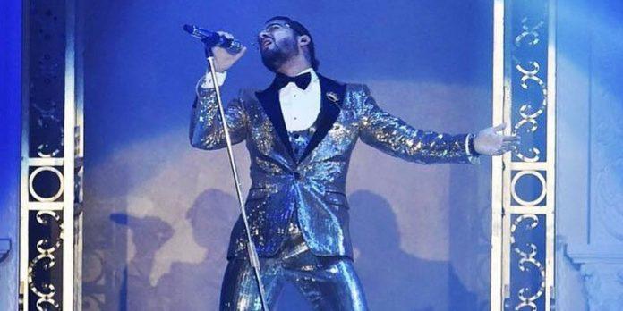 Maluma se equivoca en pasarela de Dolce & Gabbana