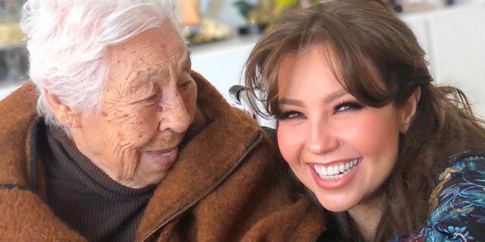 Thalía hace las paces con Laura Zapata