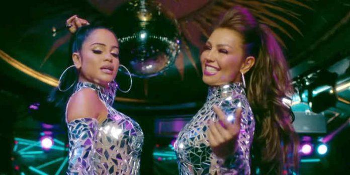 Thalía muestra un crecimiento con 'No Me Acuerdo'