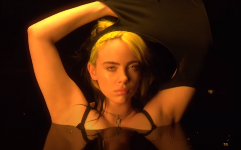 Billie Eilish se quita la ropa en protesta en su nuevo video, 'Not My Responsibility'