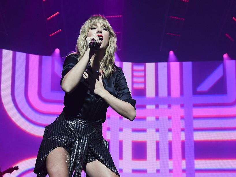 Taylor Swift estrena las versiones en vivo de su disco 'Lover'
