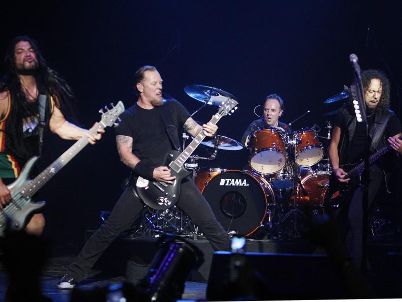 Metallica podría grabar un disco nuevo durante la cuarentena