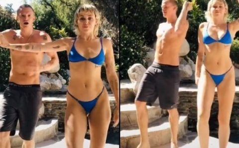 '¡Everybody Dance Now!': Miley Cyrus y Cody Simpson protagonizan un divertido TikTok